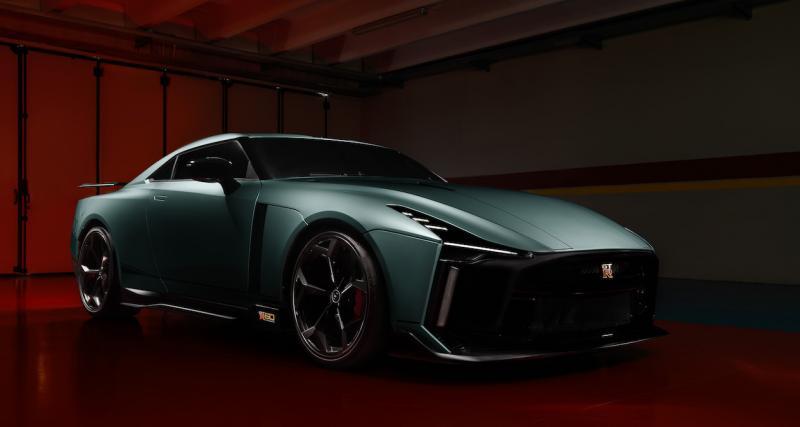 Nissan GT-R50 by Italdesign : présentation officielle de la sportive à prix d'or