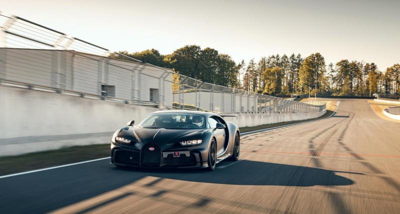 Bugatti Chiron Pur Sport : elle débarque sur le jeu iOS / Android CSR Racing 2