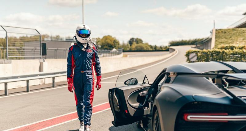 Bugatti Chiron Pur Sport de 1500 chevaux : déconfinée sur circuit