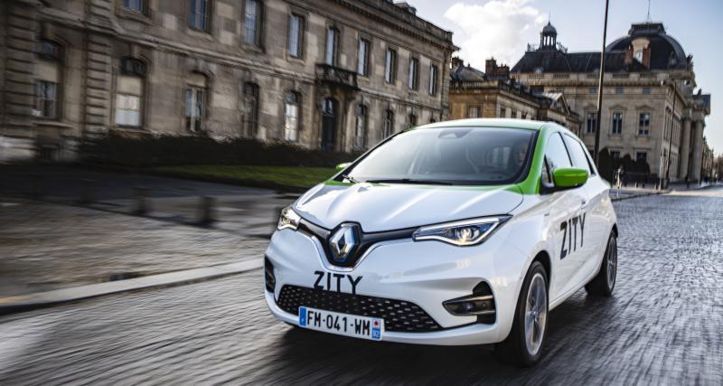 Renault Zity : à partir de 0,29€ la minute, tous les prix du service d'autopartage