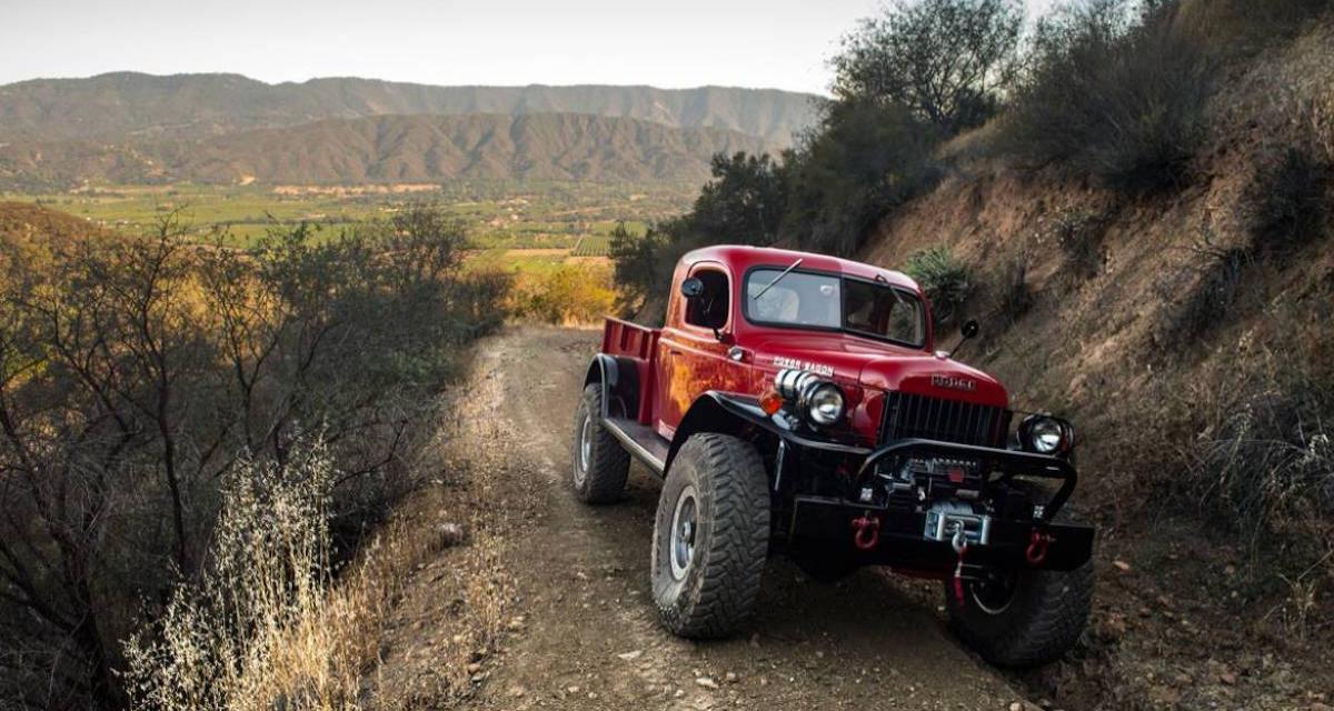Dodge Power Wagon by Legacy : jusqu'à 620 ch dans un pick-up des années 40