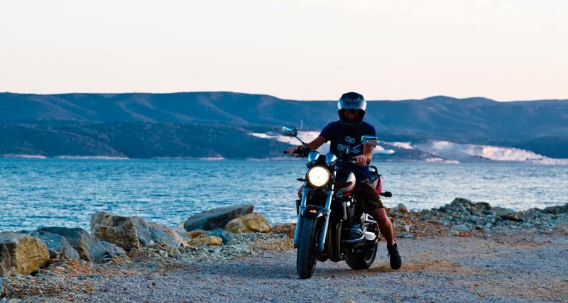 Un motard flashé à 144 sur une route limitée à 80