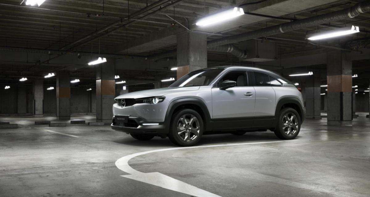 Production du Mazda MX-30 électrique : c'est parti !