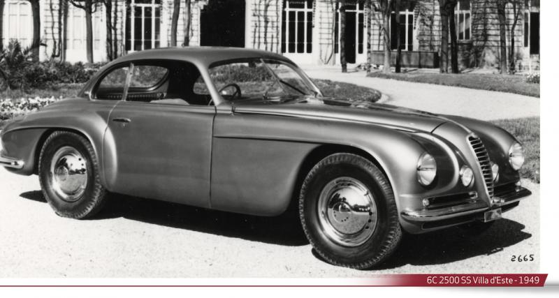 Alfa Romeo - 1939 à 1949 : la 6C 2500 comme ligne directrice d'après-guerre