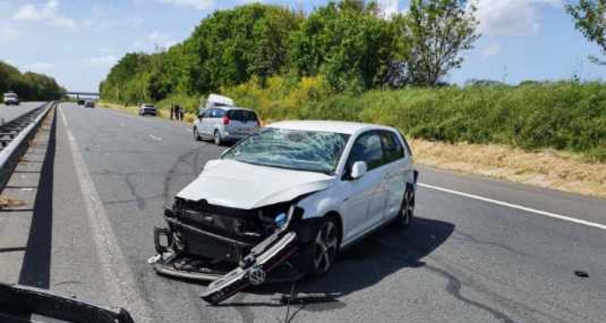 Accident à 187 km/h en Golf GTI : le conducteur était positif aux stupéfiants