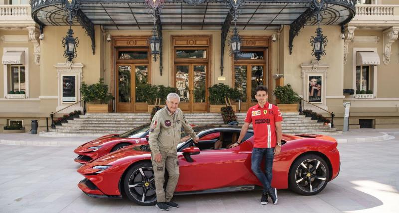 Ferrari : quand Charles Leclerc conduit à balle dans les rues de Monaco