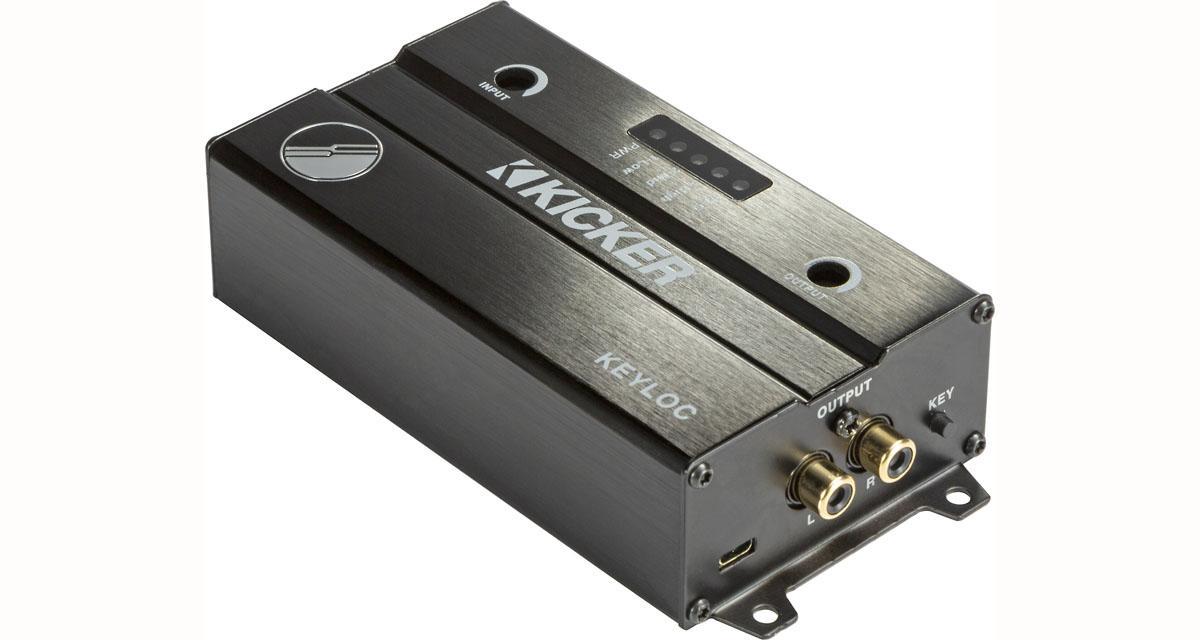 Kicker dévoile un convertisseur High/Low level avec DSP automatique