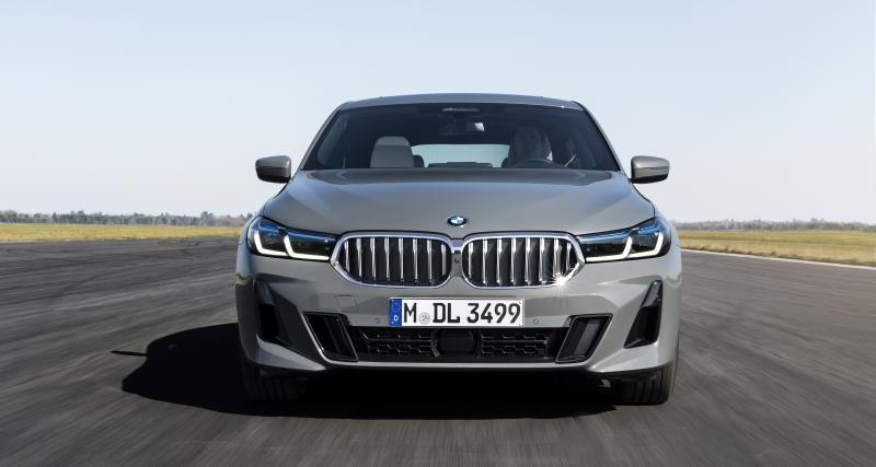 BMW Série 6 Gran Turismo : tous les prix du restylage 2020