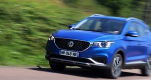 MG ZS EV : les photos de notre essai du SUV électrique au badge anglais