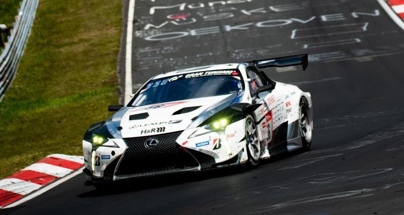 24 heures du Nürburgring : adieu Lexus !