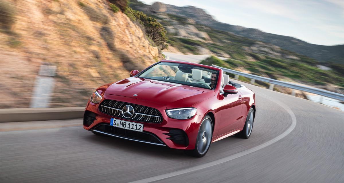 Mercedes Classe E Coupé et Cabriolet restylées (2020) : l'allemande se refait une beauté, toutes les infos