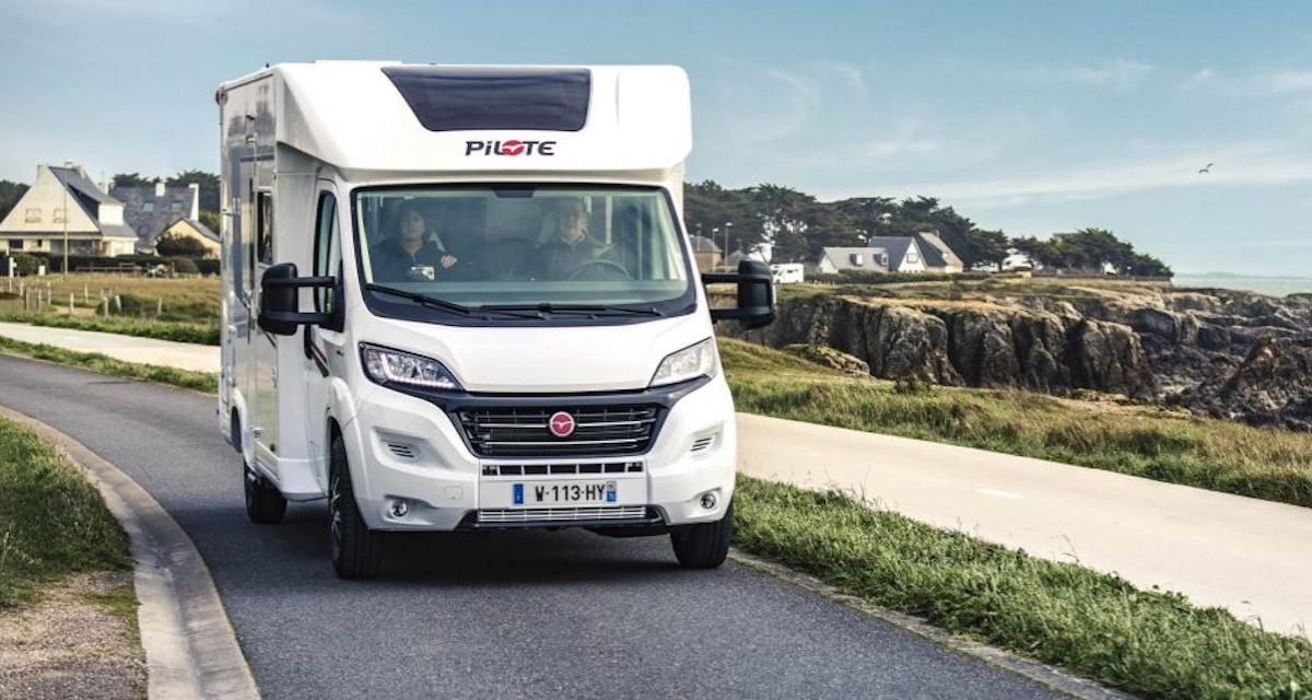 Nouveau camping-car Pilote P626D : le roi du déconfinement !