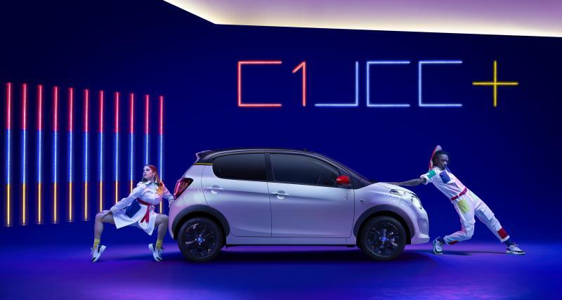 Citroën C1 JCC+ : une nouvelle série spéciale signée Jean-Charles de Castelbajac