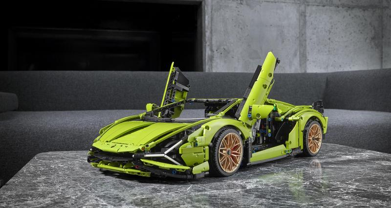 Lamborghini Sián by Lego Technic : la supercar enfin abordable !