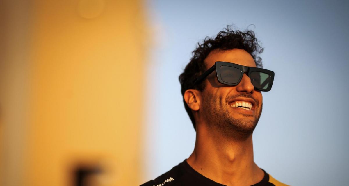 Transferts : Daniel Ricciardo a eu des contacts avec Ferrari