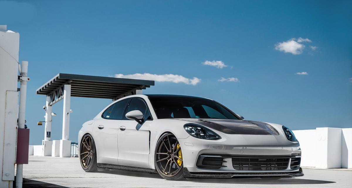Porsche Panamera by DMC : le carbone en fête pour la berline allemande