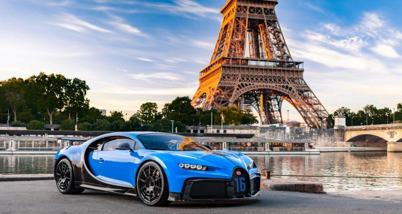 Bugatti Chiron Pur Sport : 1500 chevaux en tournée européenne