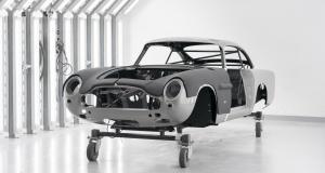 Aston Martin DB5 Goldfinger Continuation : une série ultra-exclusive en cours de fabrication