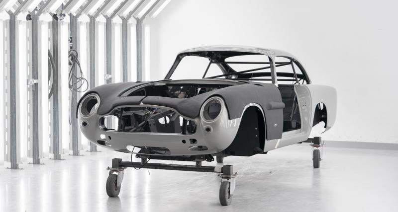 Aston Martin DB5 Goldfinger Continuation : une série ultra-exclusive en cours de fabrication