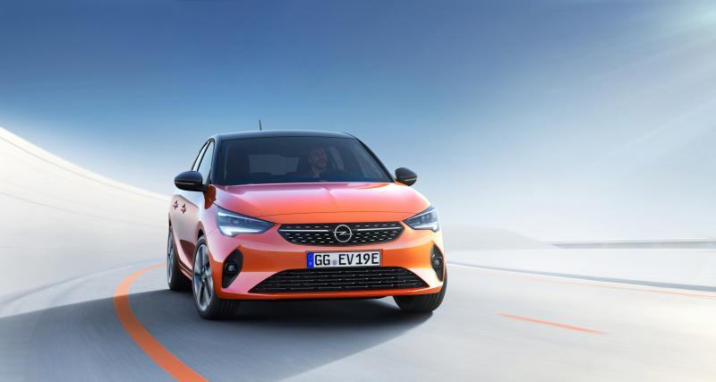 Qu'en est-il de l'Opel Corsa-E ?