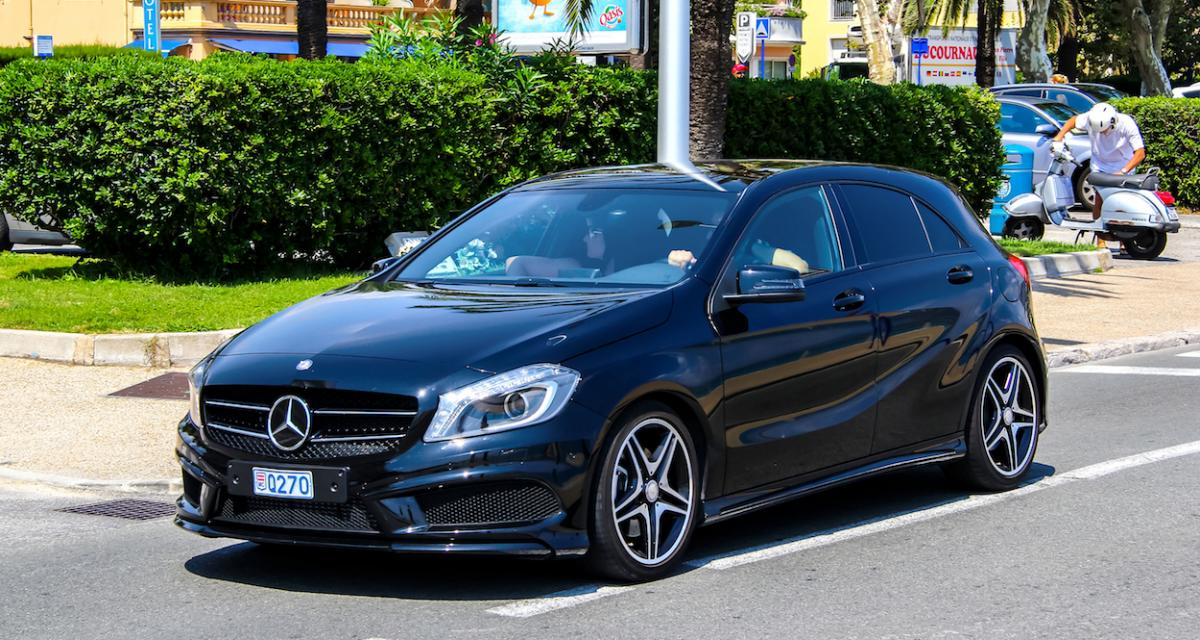 Ivre, il mène sa Mercedes Classe A à 151 km/h