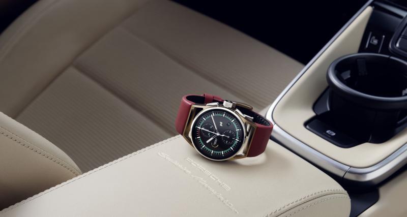 La montre Porsche Design assortie