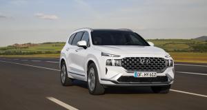Hyundai Santa Fe restylé (2020) : le SUV coréen passe à l'hybride