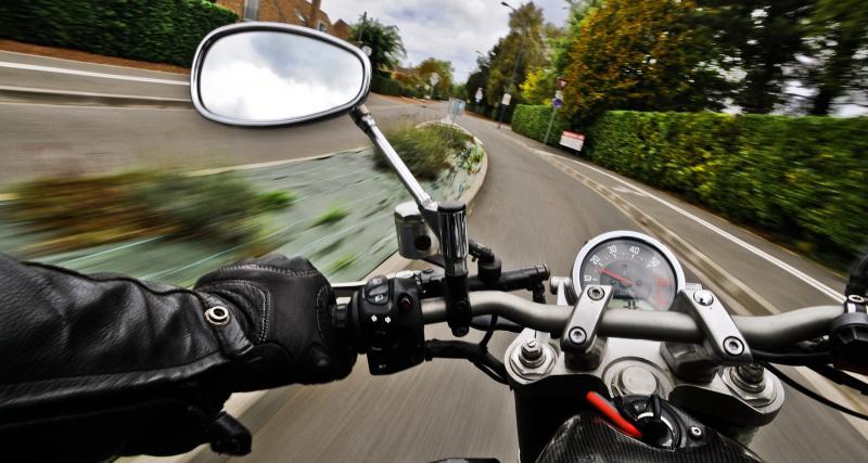 Un motard arrêté à 187 km/h sur une route limitée à 90 !