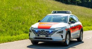 La police suisse roule en Hyundai Nexo hydrogène