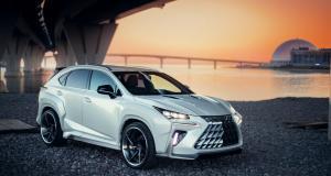 Lexus RX et NX : les improbables kits carrosserie russes