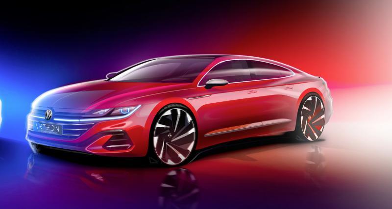 Volkswagen Arteon restylée : le Shooting Brake en approche