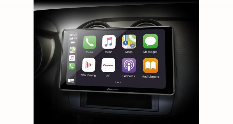 Un nouvel autoradio CarPlay et Android Auto avec écran 9 pouces chez Pioneer