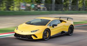 À fond de compteur : la Lamborghini Huracan Performante poussée à 330 km/h sur autoroute