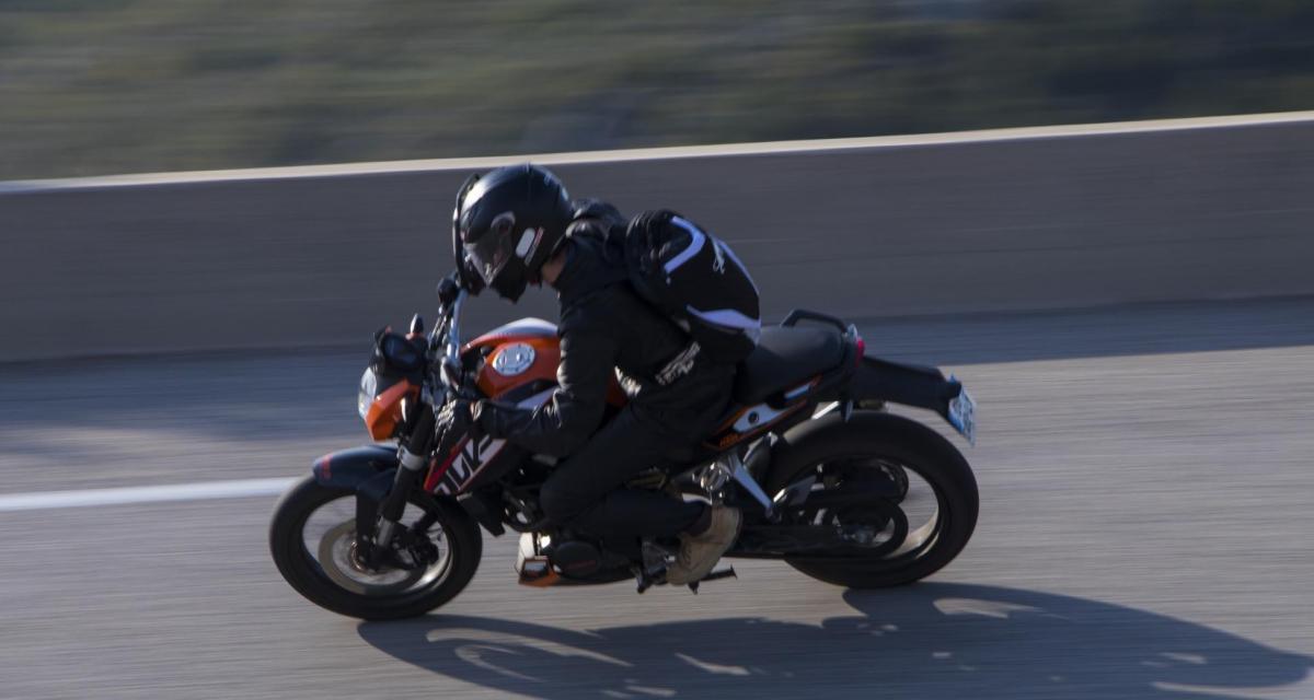 Fous du guidon : un motard intercepté à 187 km/h sur une nationale