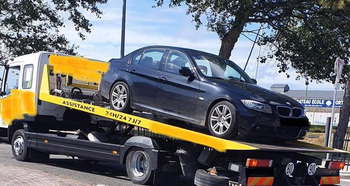 Contrôlé positif au cannabis, l'automobiliste récidiviste roulait en BMW Série 3