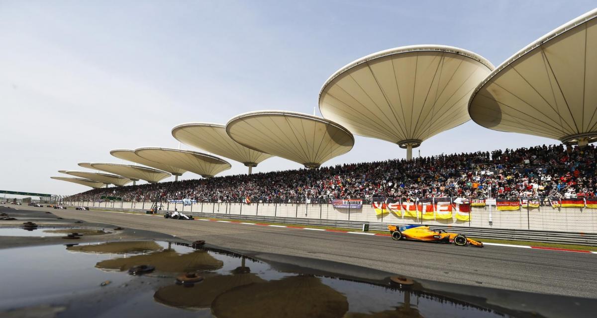 F1 : la Chine finalement au calendrier de la saison 2020 ?