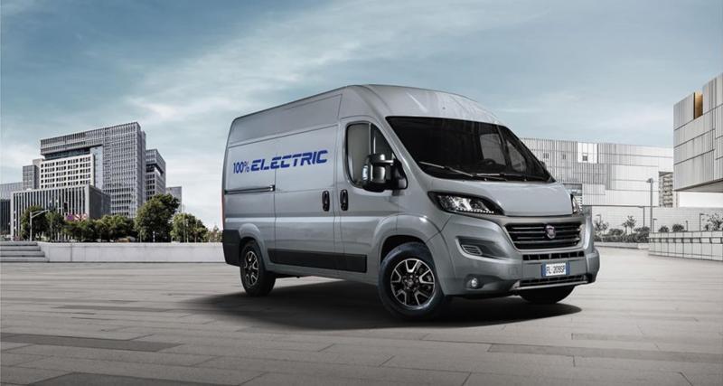 Nouveau Fiat E-Ducato (2020) : une charge utile proche de 2 tonnes et 360 km d'autonomie