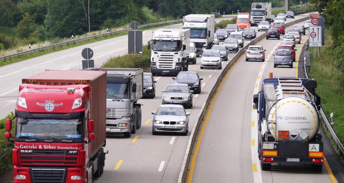 Un poids-lourd espagnol flashé à 146 km/h sur l'autoroute, le chauffeur perd son permis