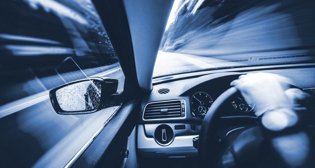 Flashé à plus de 150 km/h au lieu de 80, le chef d'entreprise repart sans sa Porsche