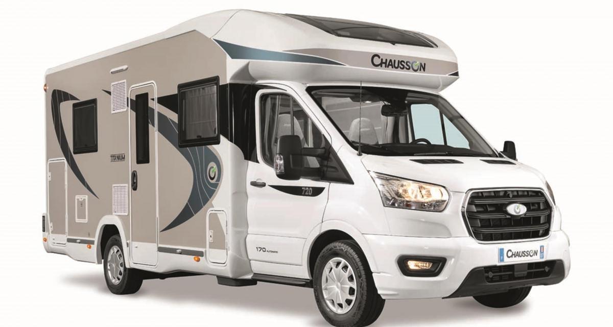 Chausson Titanium 720 : le camping-car suréquipé pour un été au top