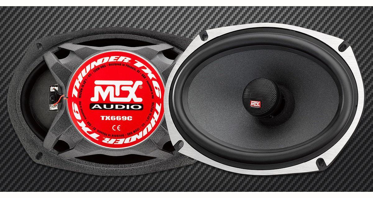 MTX commercialise un gros HP coaxial offrant un rapport performances/prix canon