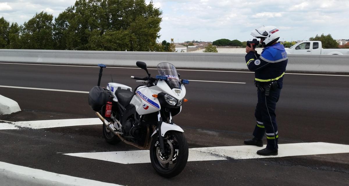 Titulaire d'un permis probatoire, il se fait flasher en BMW à 178 km/h