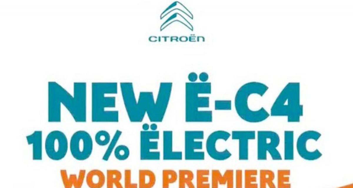 Nouvelle Citroën ë-C4 : rendez-vous le 30 juin pour tout savoir