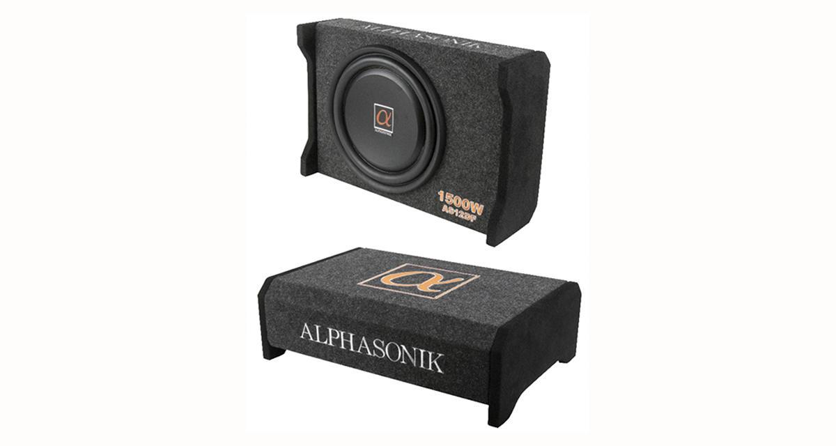 Alphasonik commercialise un caisson de grave slim avec subwoofer de 30 cm