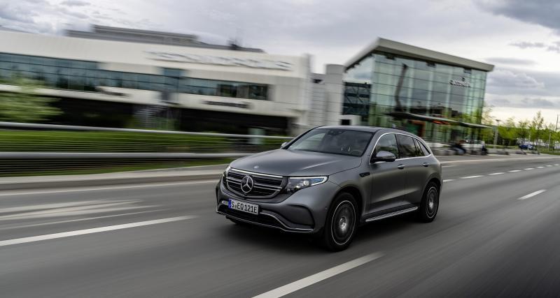 À fond de compteur : le Mercedes EQC à l'exercice de la Vmax