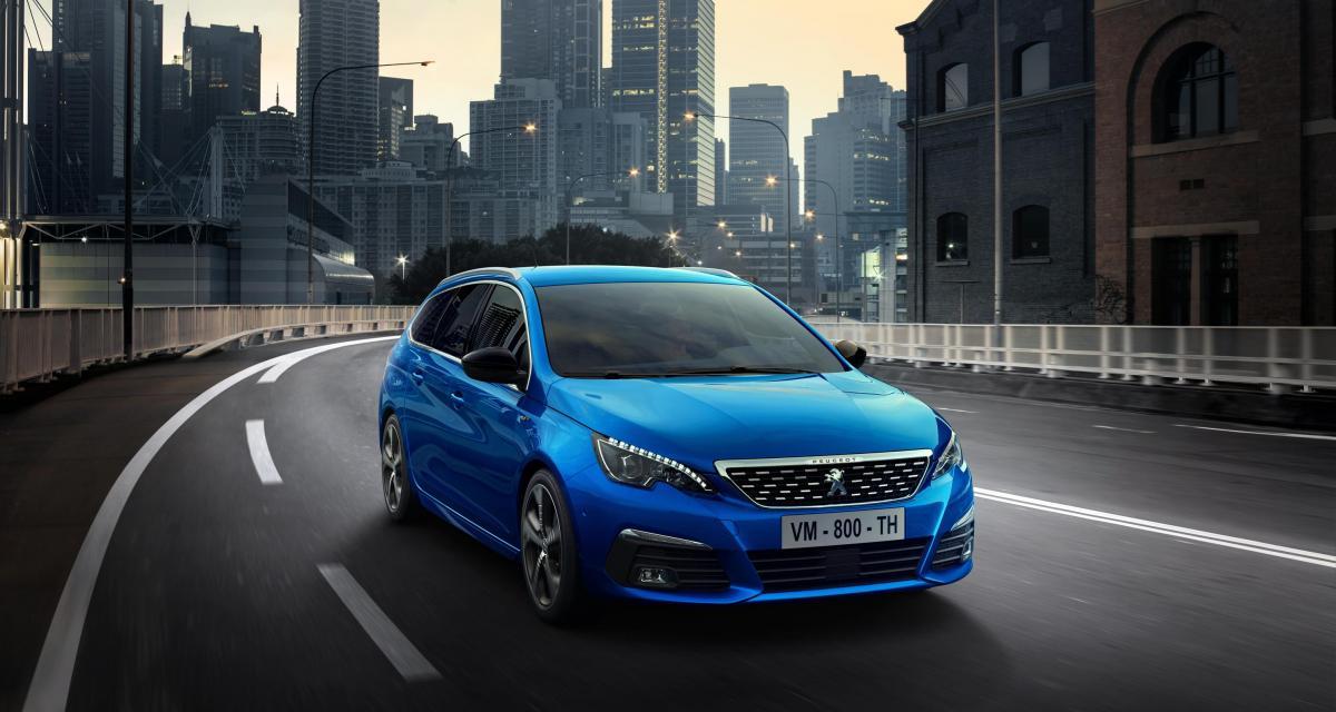 Peugeot 308 : du nouveau pour le millésime 2020