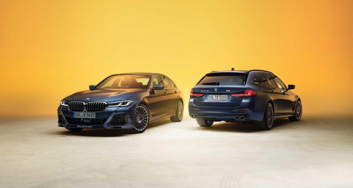 Alpina B5 et D5 S : la BMW Série 5 déjà perfectionnée