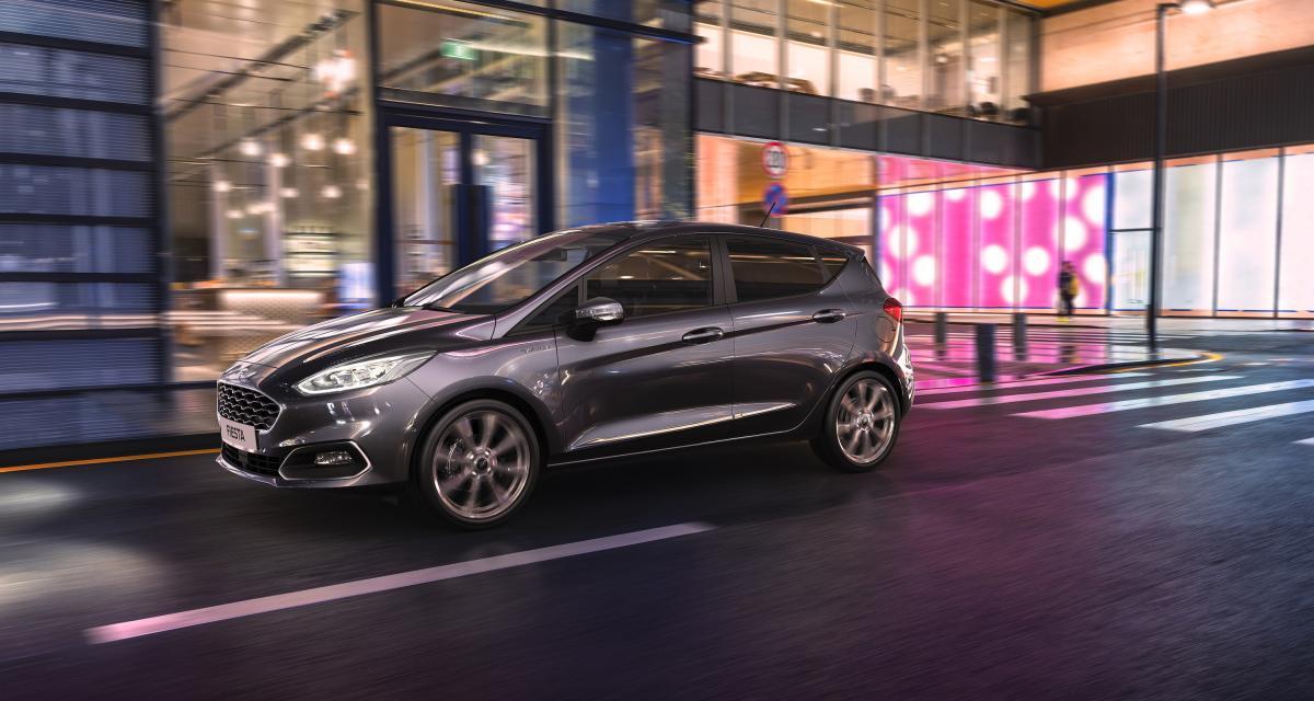 Ford Fiesta EcoBoost Hybrid : la citadine passe à l'hybridation légère