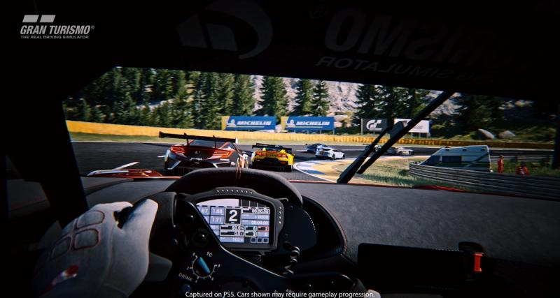 Gran Turismo 7 : 1er trailer sur PS5