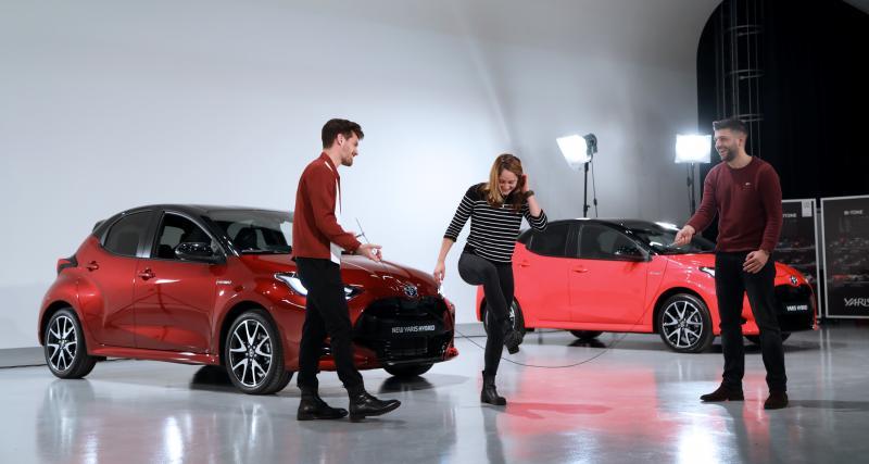 Nouvelle Toyota Yaris : épisode 1, découverte de la citadine à Bruxelles
